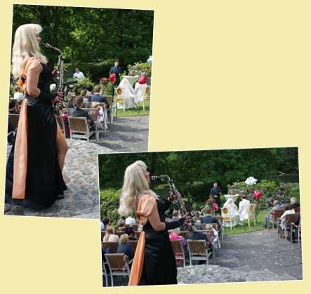 Musik zur Trauung, Hochzeitszeremonie, Hochzeit mit Saxophon
