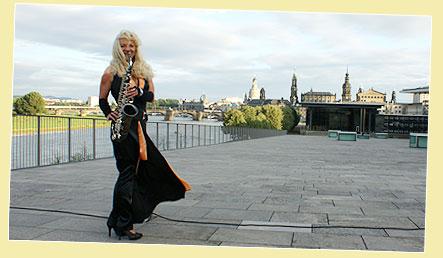 Saxophonist Dresden