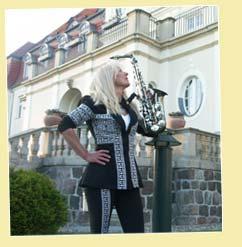 Saxophonist für Empfang