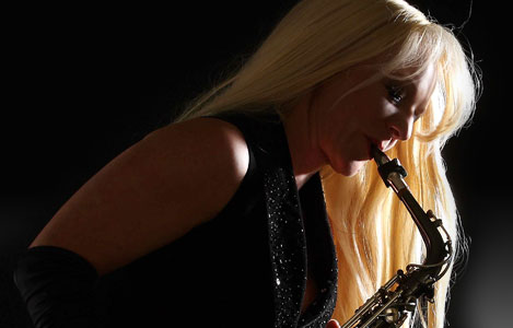Saxophonist  Kathrin Eipert
