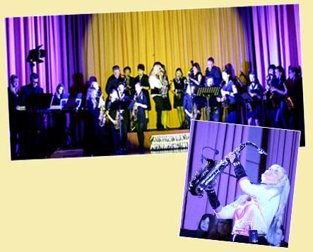 Saxophonband